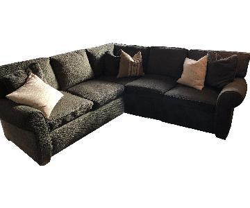 Arhaus 2-Piece Fabric Sectional Sofa