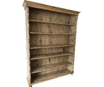 English Pine Bookcase