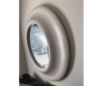 Bullnose Mid Century Plaster Frame Mirror