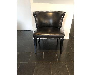 Ralph Lauren Duke Leather Nailhead Chairs