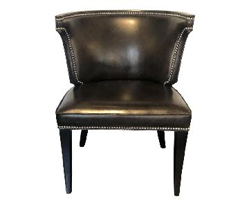 Ralph Lauren Duke Leather Nailhead Chairs