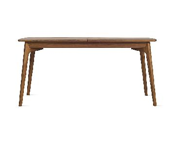 Design Within Reach Dulwich Walnut Extension Dining Table