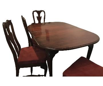 Mahogany 6-Piece Dining Set