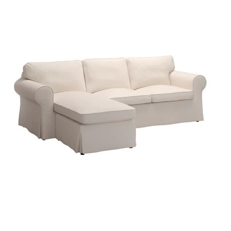Groovy Ikea Ektorp 2 Piece Sectional Sofa Aptdeco Beatyapartments Chair Design Images Beatyapartmentscom