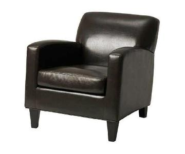 Ikea Jappling Faux Leather Chair
