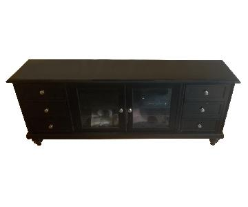 American Signature Furniture Merrick Fireplace TV Stand