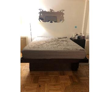 Gothic Cabinet Craft Queen Platform Bed w/ 4 Drawers