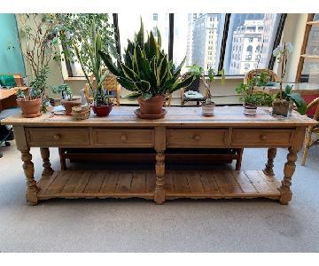 Large Wooden Credenza