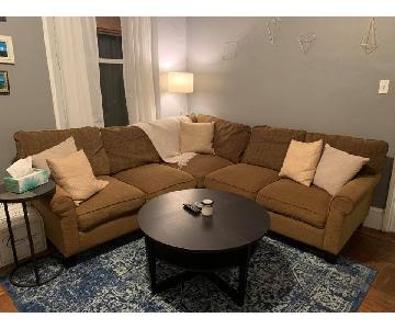 Pier 1 Corner 3-Piece Sectional Sofa