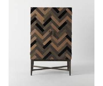 West Elm Parquetry Armoire