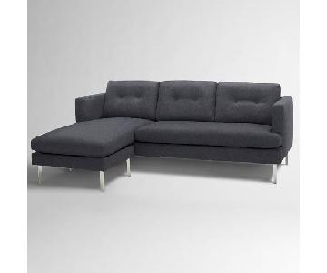 West Elm Jackson 2-Piece Chaise Sectional Sofa