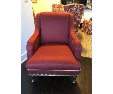Mitchell Gold + Bob Williams Custom Upholstered Armchair