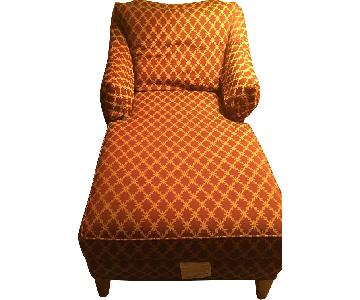 Ethan Allen Chaise Lounge w/ Arms