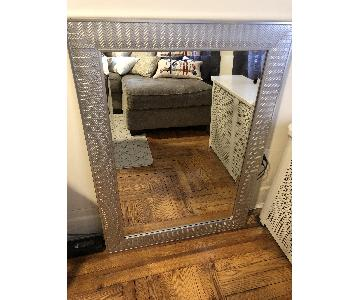 Silver Finish Mirror