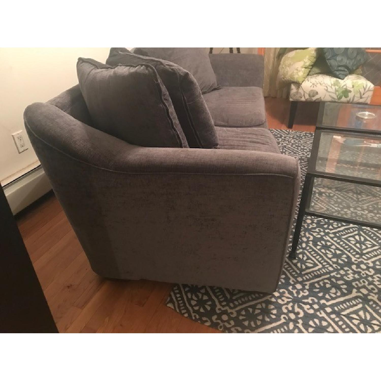 Ashley Grey Traditional Sofa-2
