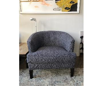A&G Merch Tweed Armchair