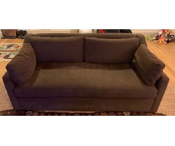 Restoration Hardware Belgian Classic Slope Arm Sofa