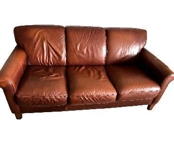 Divani Chateau d'Ax Leather Sofa