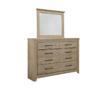 Ashley Annilynn 6 Drawer Dresser w/ Mirror