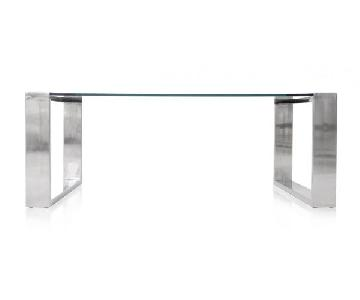 Modani Caterina Glass Coffee Table