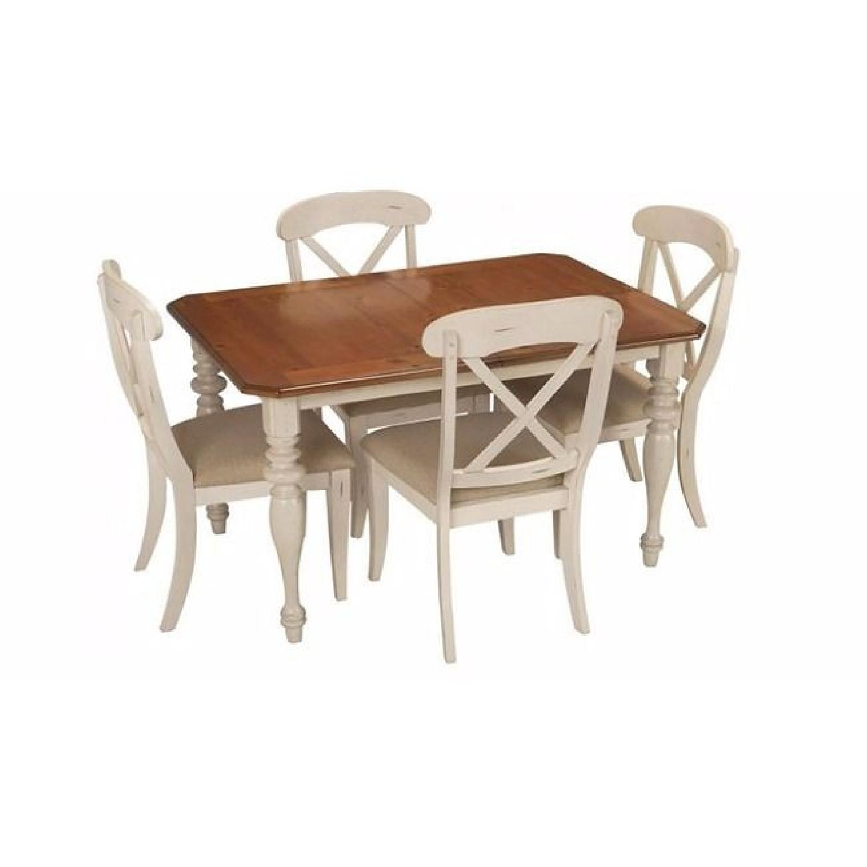 Raymour & Flanigan 5 Piece Extension Dining Set