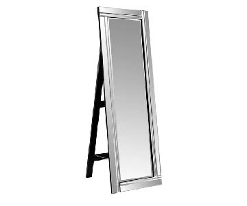 Wade Logan Full Length Mirror w/ Stand