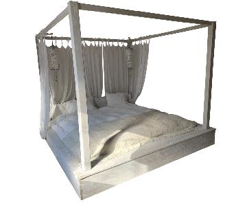 Handmade Specialty Wooden 4 Poster Bed Frame