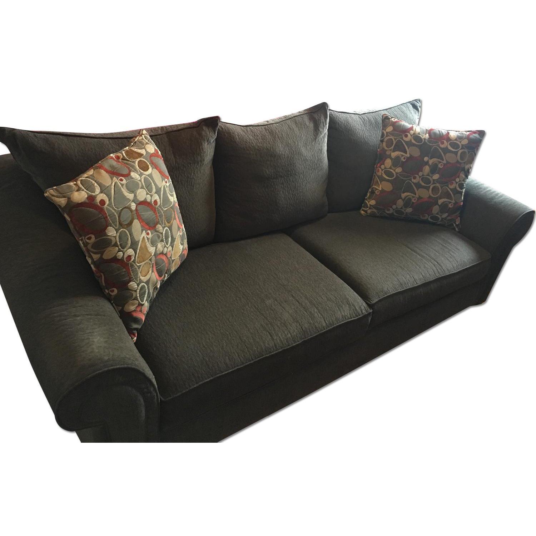 Raymour & Flanigan Molly Chenille Sofa - image-0