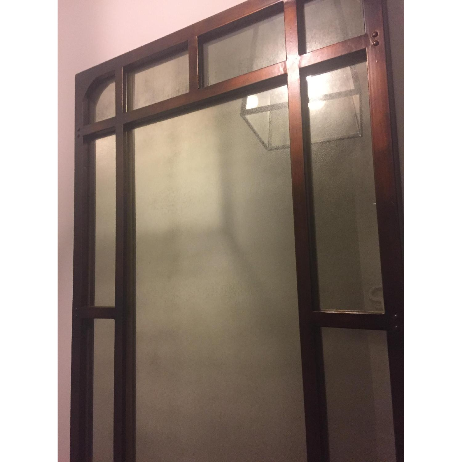 Tall Antiqued Mirror - image-1