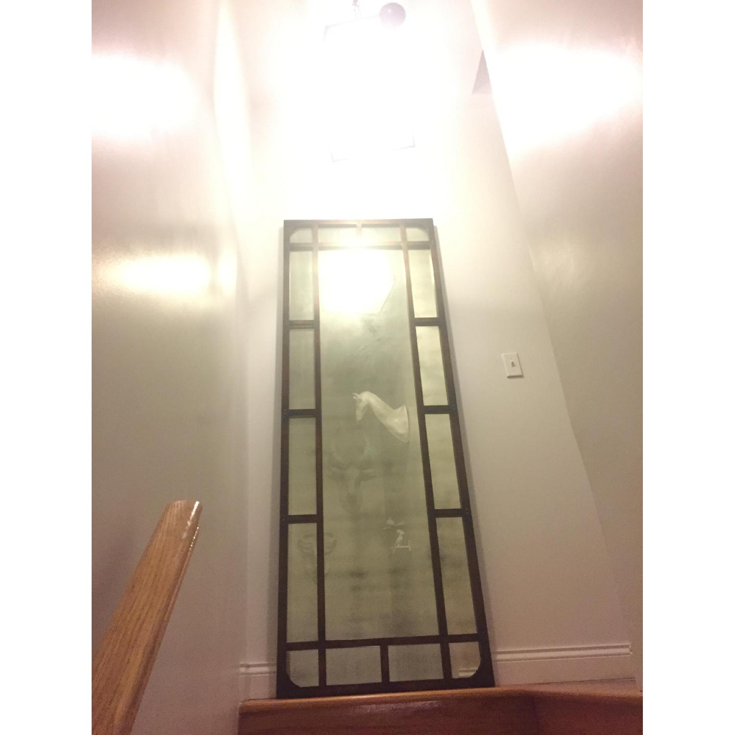 Tall Antiqued Mirror - image-2