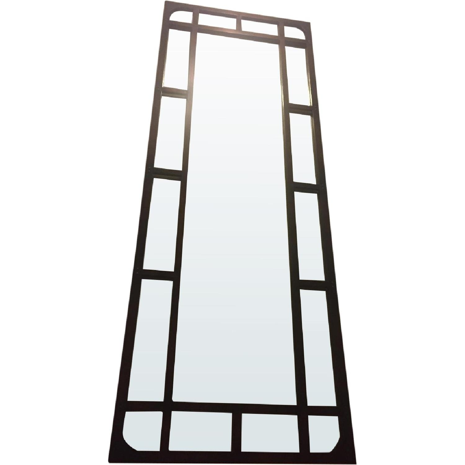 Tall Antiqued Mirror - image-0