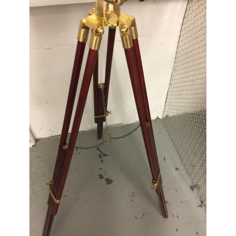 Barska Gold & Wooden Telescope - image-4
