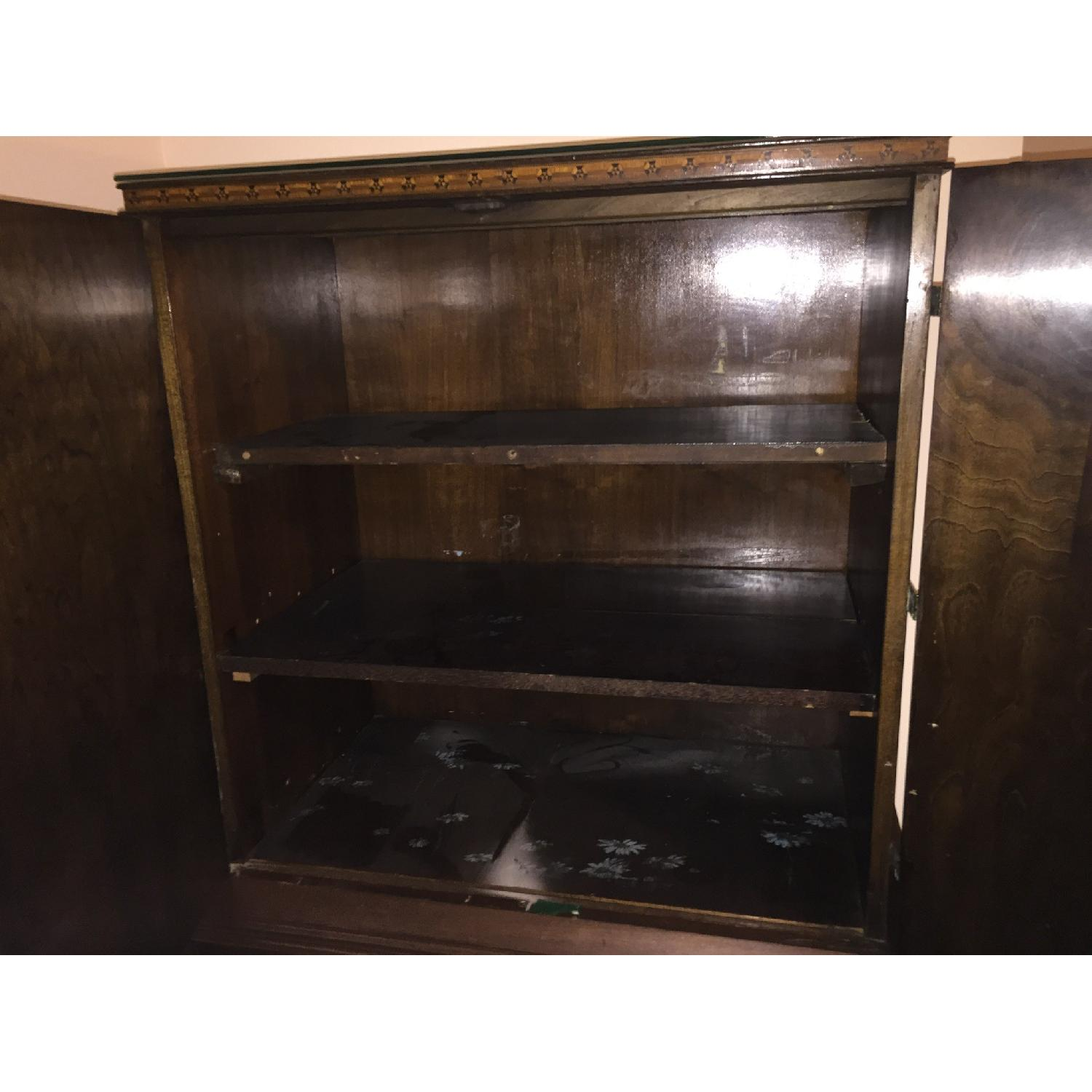 Media Armoire/Wardrobe w/ Shelves - image-5