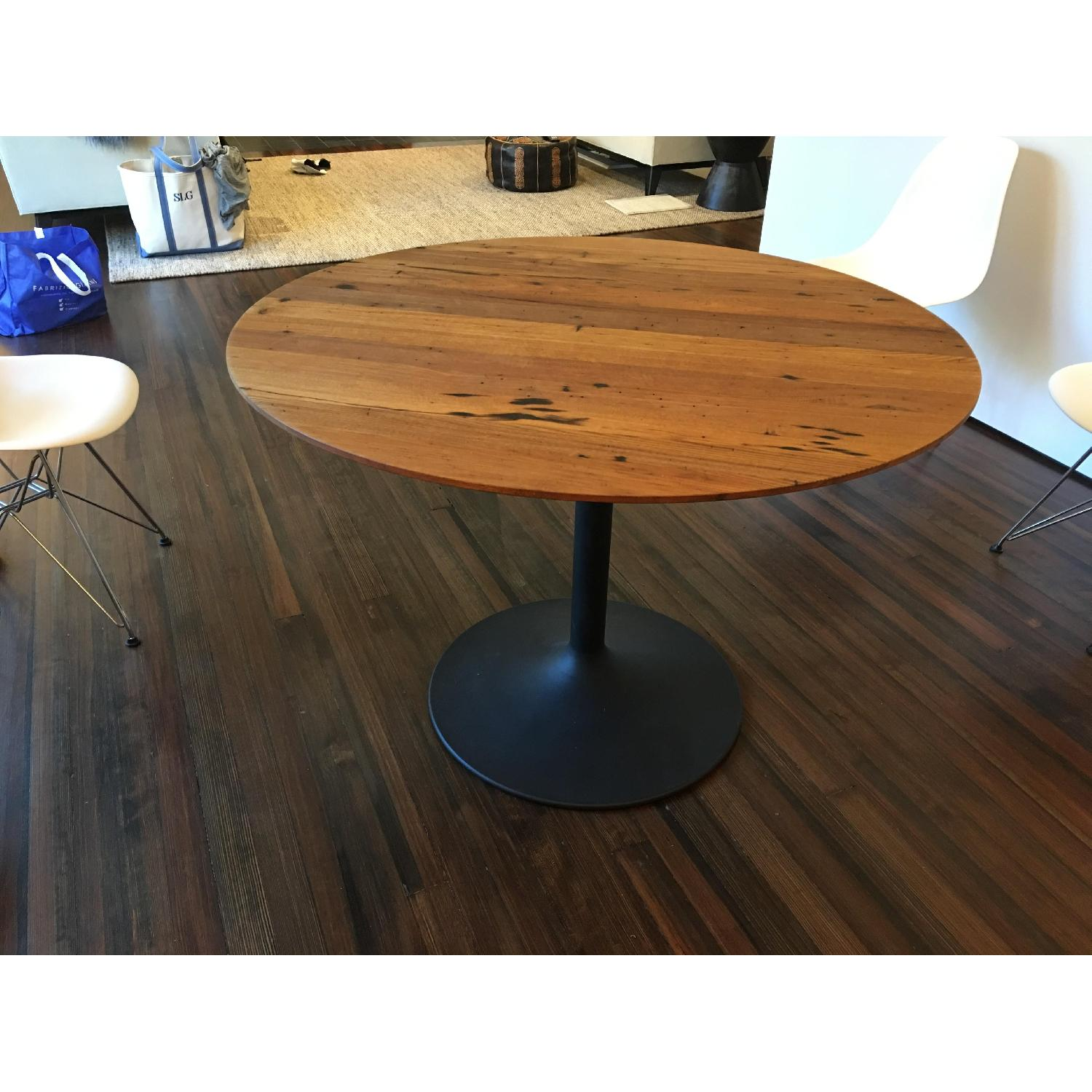 Room & Board Aria Reclaimed Chestnut Wood Dining Table - image-2
