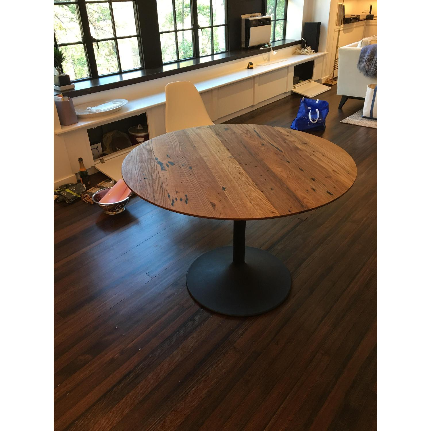 Room & Board Aria Reclaimed Chestnut Wood Dining Table - image-3
