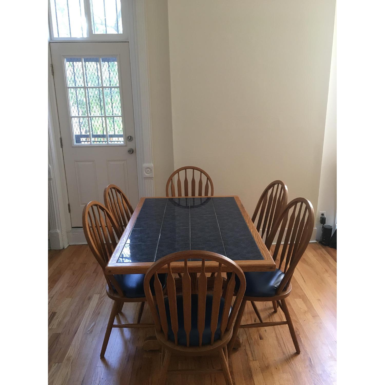 Sapphire Tile 7 Piece Dining Set - image-1
