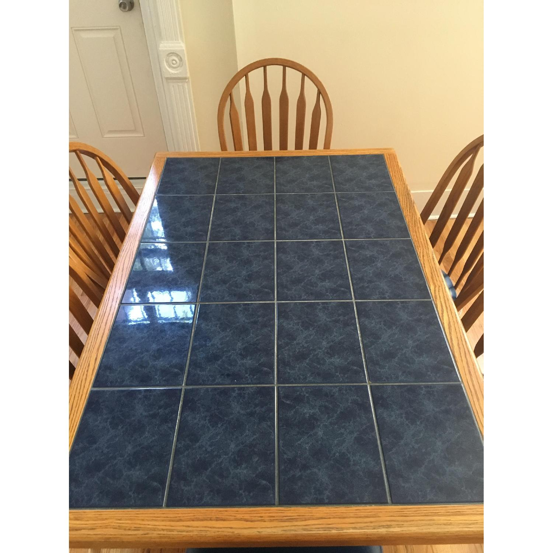 Sapphire Tile 7 Piece Dining Set - image-4