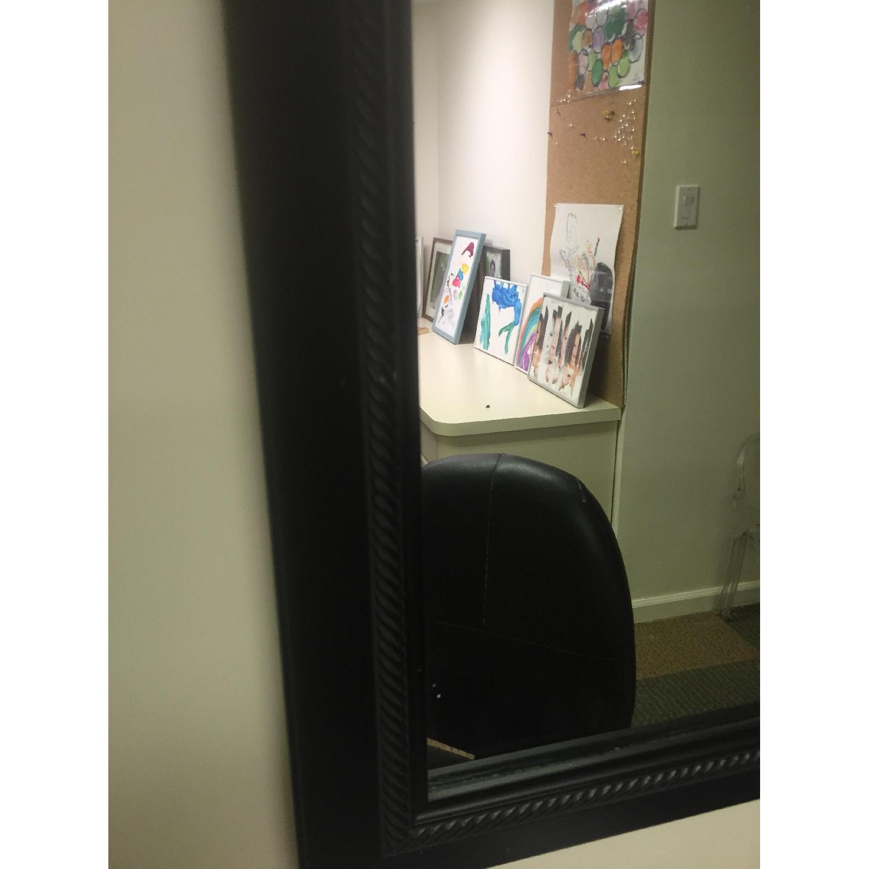 Black Rectangle Mirror - image-2