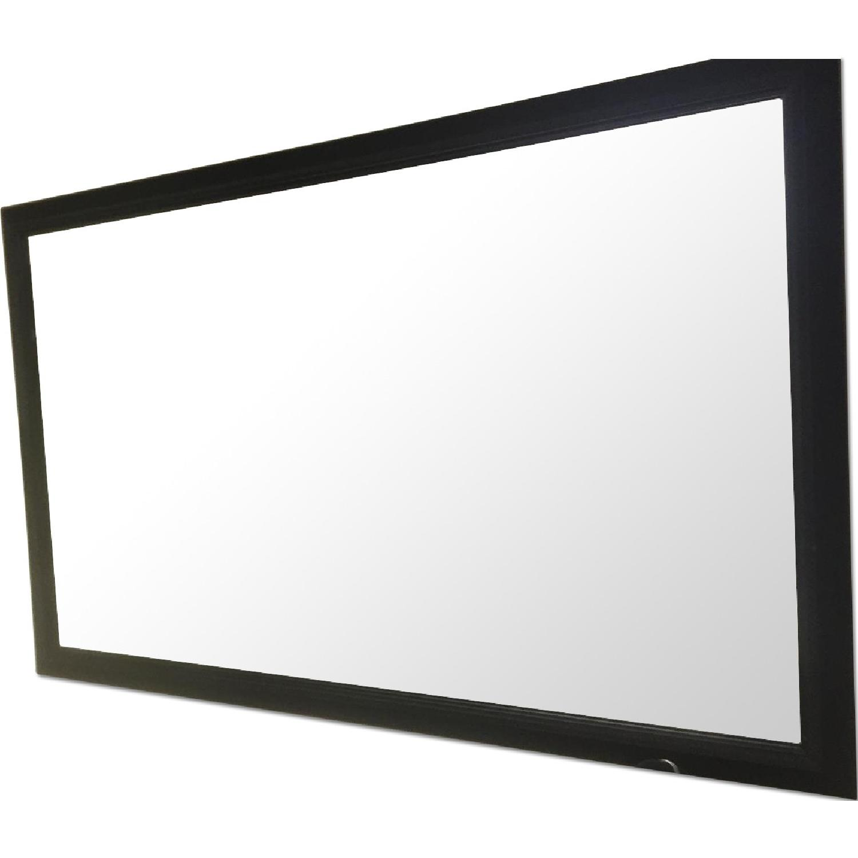 Black Rectangle Mirror - image-0