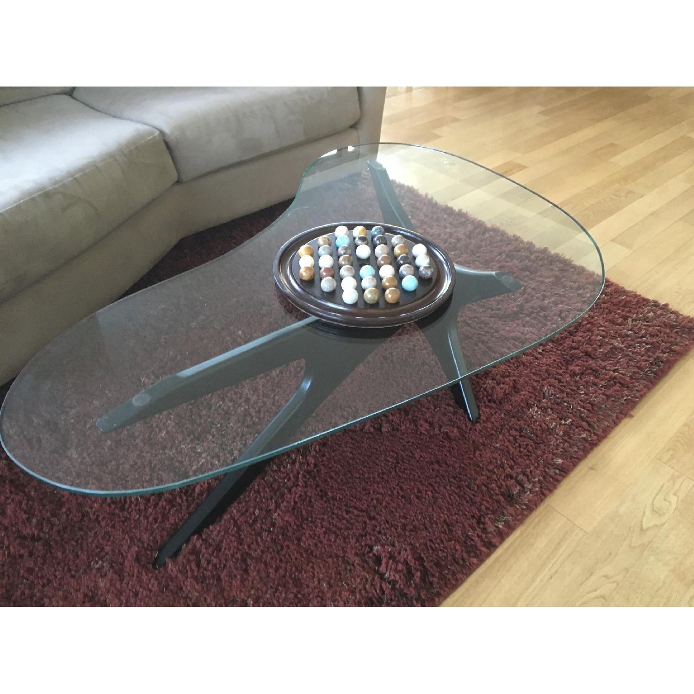 Glass Coffee Table - image-1