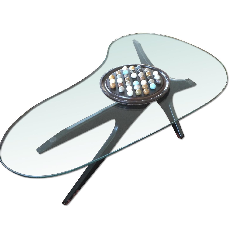 Glass Coffee Table - image-0