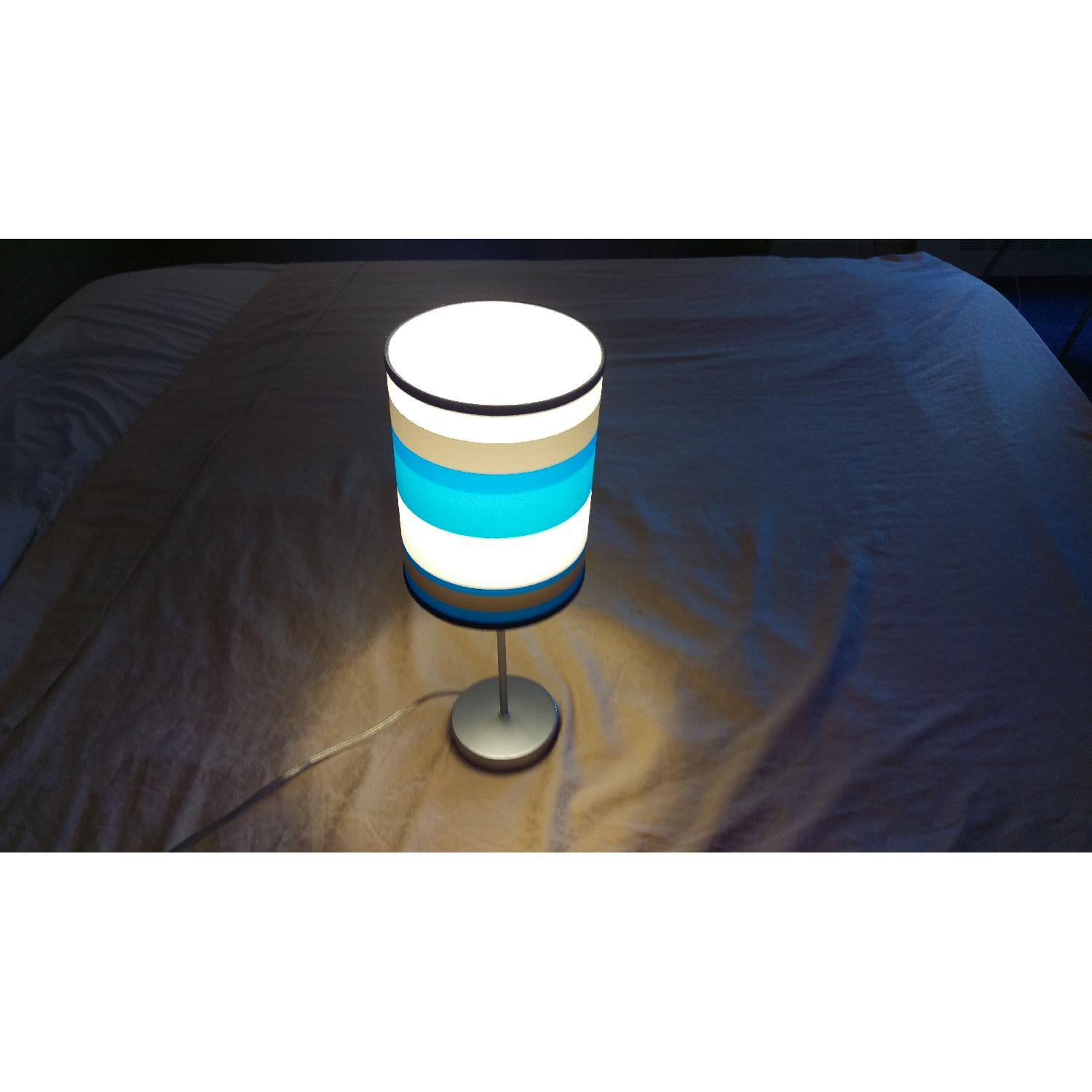 Blue Table Lamp - image-1