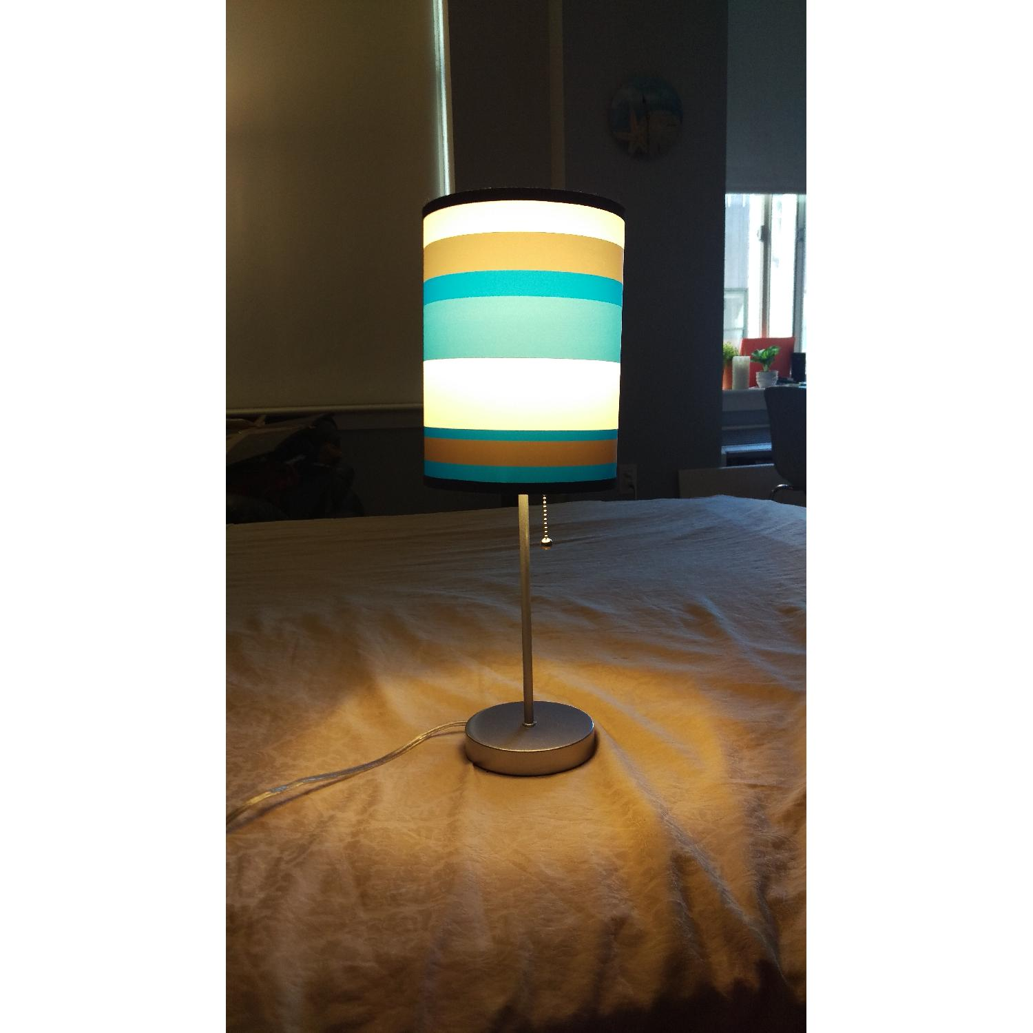 Blue Table Lamp - image-2