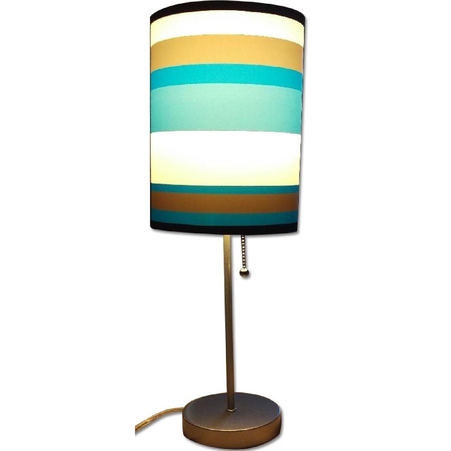 Blue Table Lamp - image-0