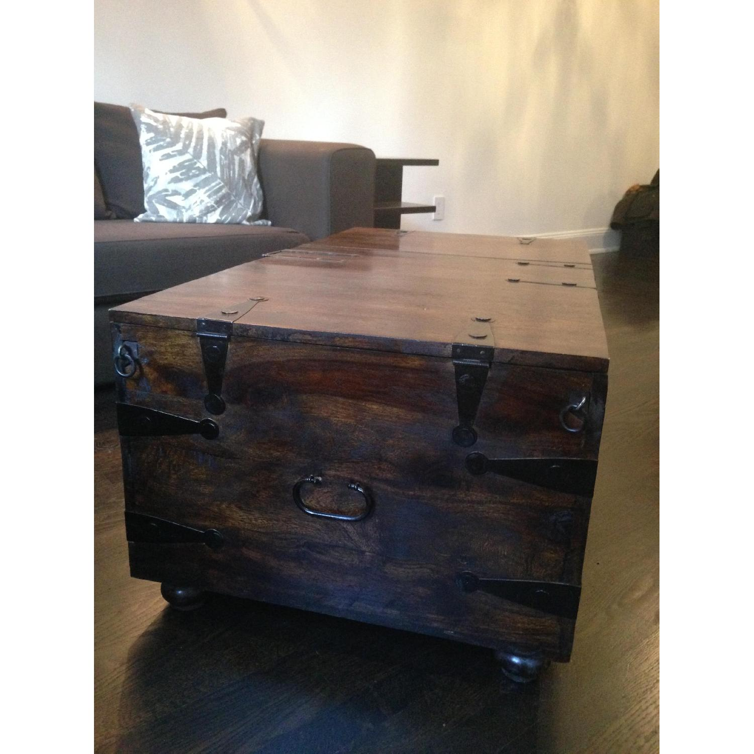 William Sheppee USA Solid Wood Trunk Coffee Table - image-4