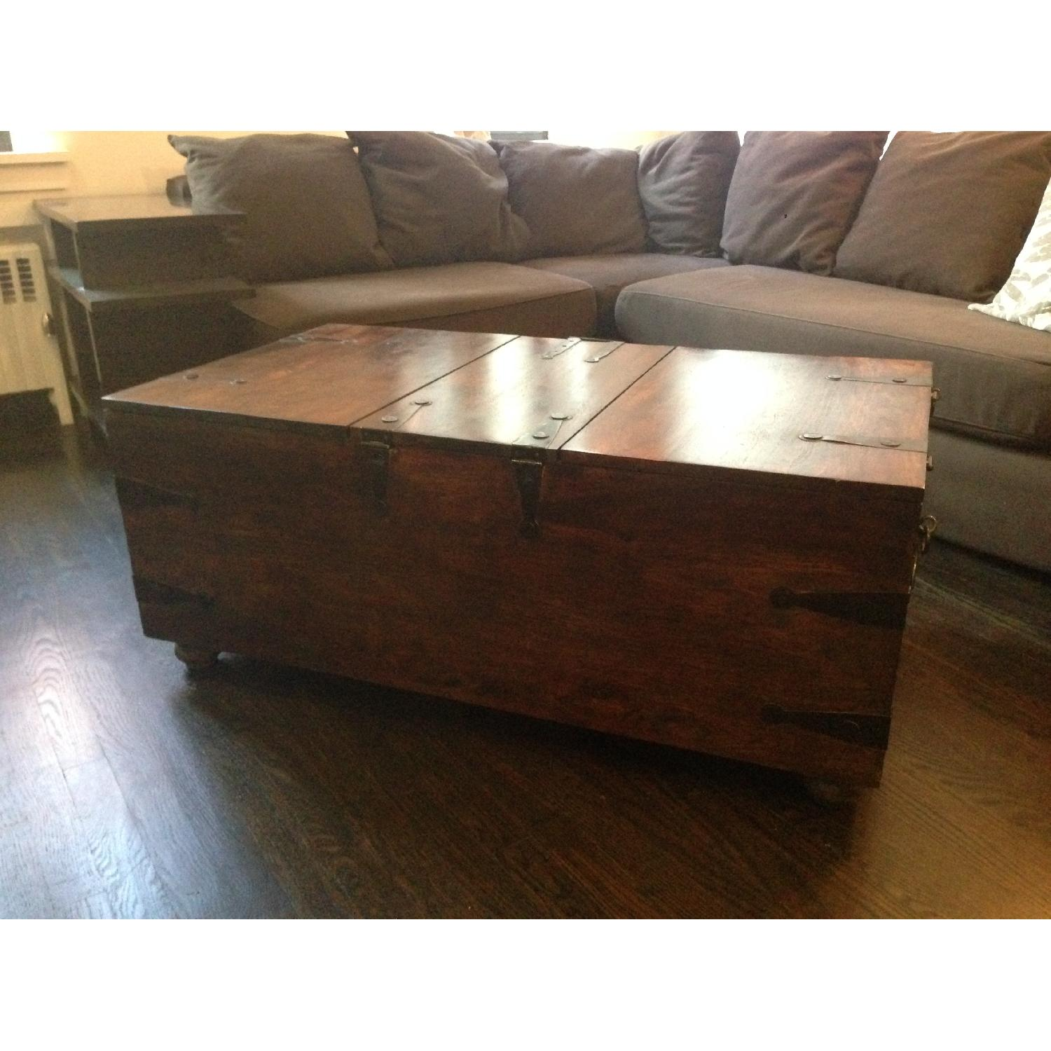 William Sheppee USA Solid Wood Trunk Coffee Table - image-5