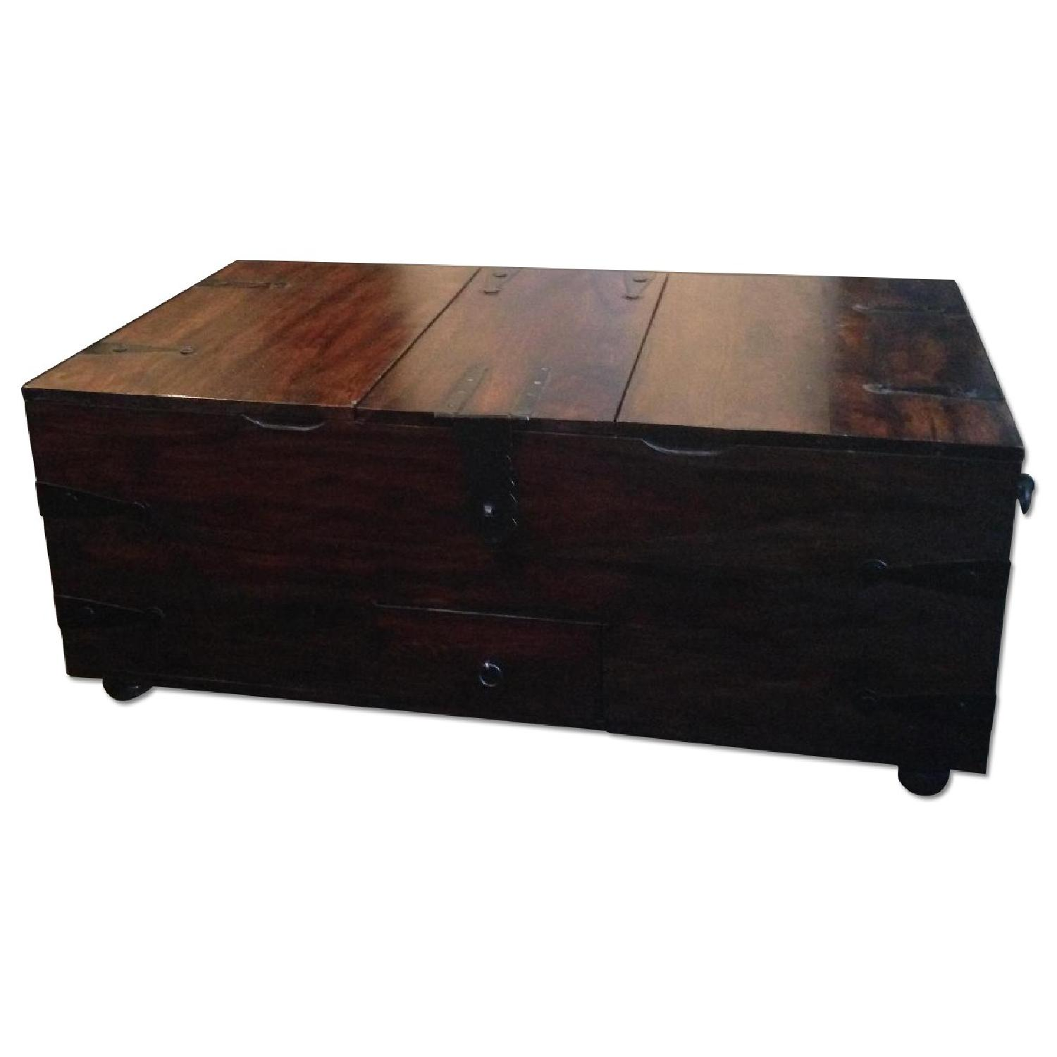 William Sheppee USA Solid Wood Trunk Coffee Table - image-0