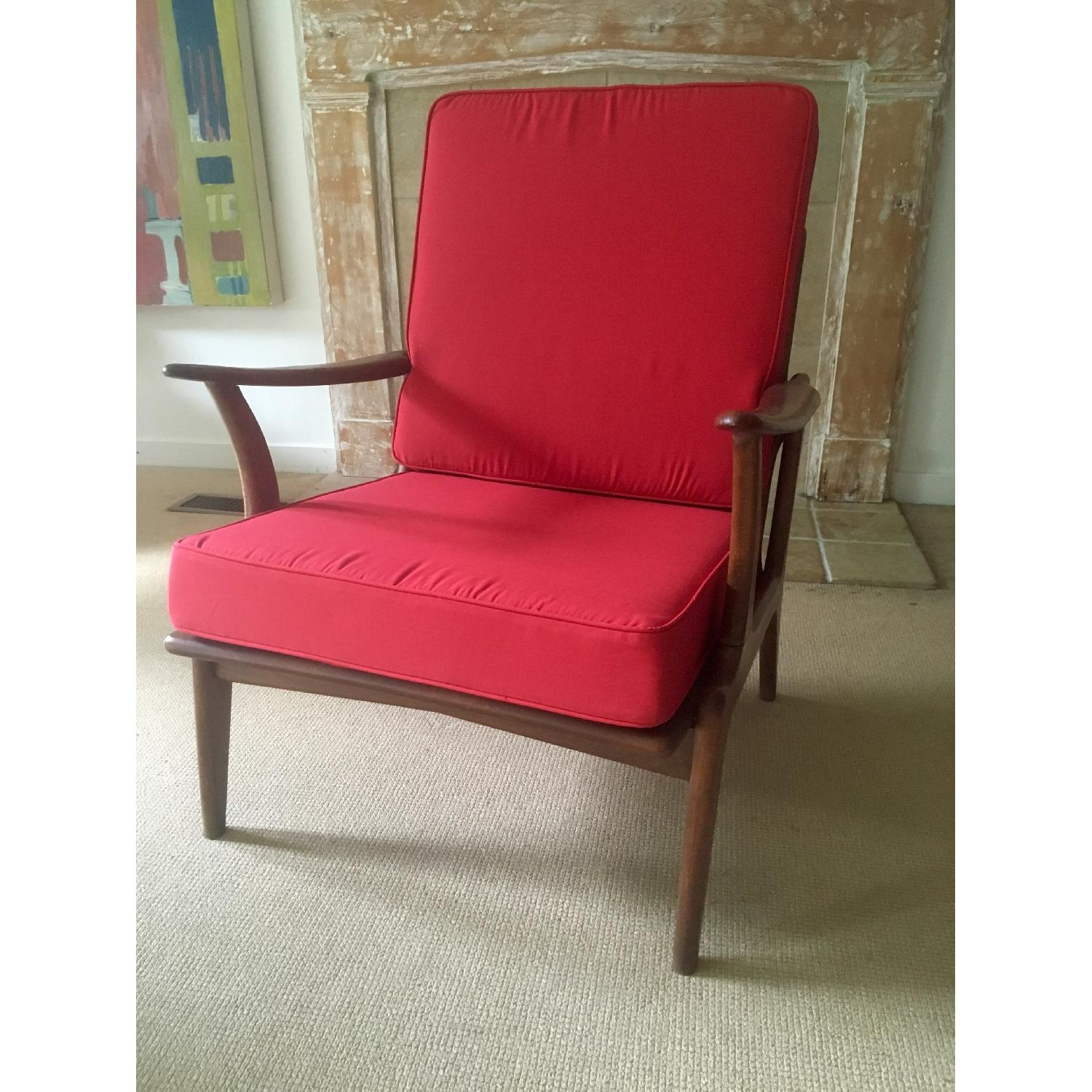 Mid Century Lounge Chair - image-1