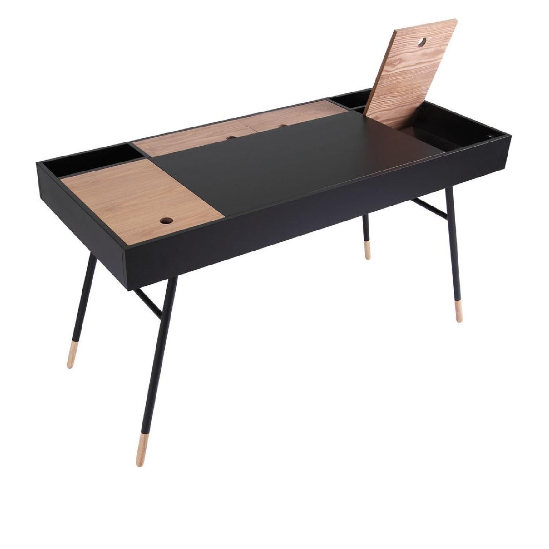 URBN Kasper Writing Desk in White - image-2