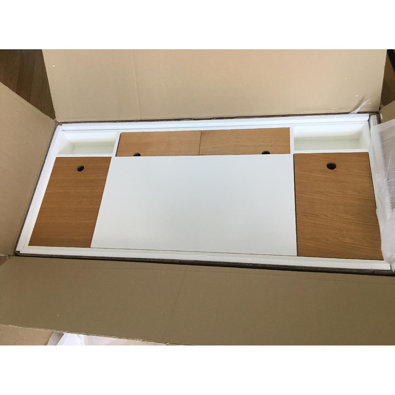 URBN Kasper Writing Desk in White - image-5